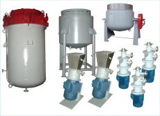 Equipment for the production of fat