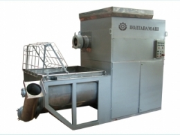 Aggregate for grinding and salting meat